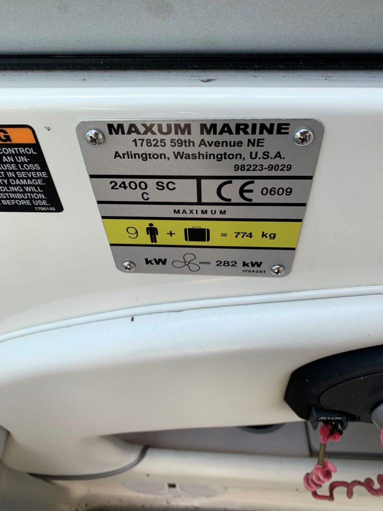 Maxum 2400_3